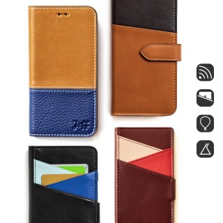 FC06|bifold leather case