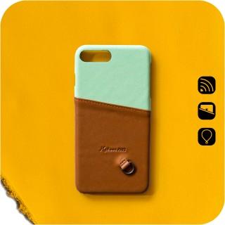 LC70|插卡.感應手機殼
