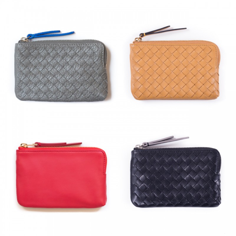 Kenzie woven key pouch.coin pouch