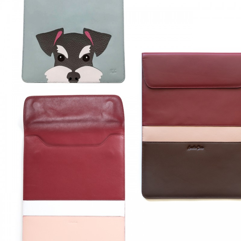 Leather case for Mac・iPad