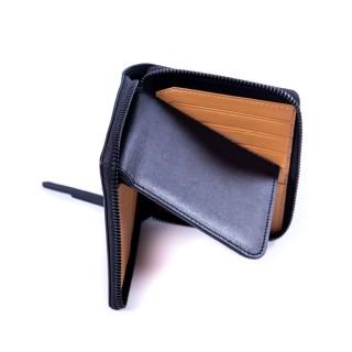 Bifold zip wallet